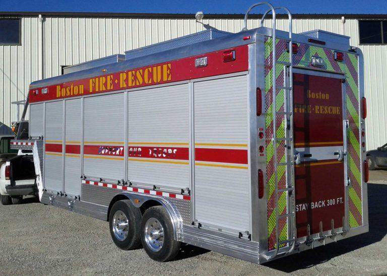 fire trailer photo