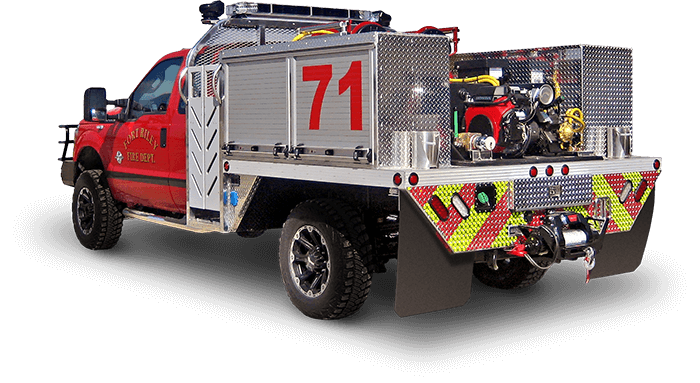 Wet Rescue Brush Truck