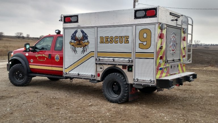 wet rescue fire truck stored cafs