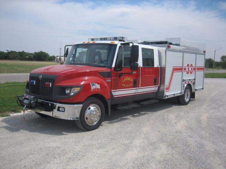drey rescue fire truck heavy duty extra storage