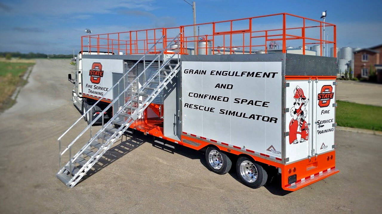 Oklahoma State University Training Trailer
