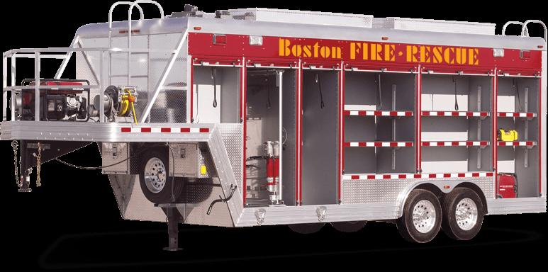 Trailers Rescue USAR Boston