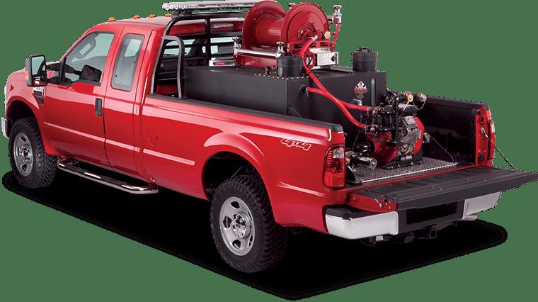 custom fire truck skid unit econo brush truck