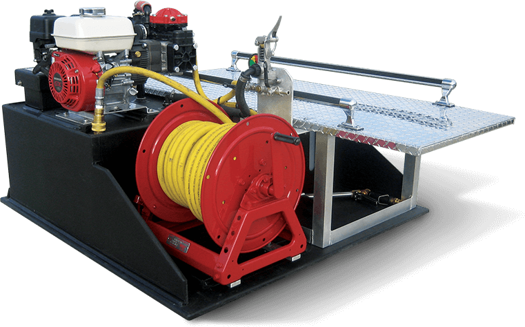 75 Gallon ATV Skid unit with Stokes Carrier