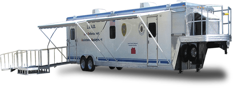 Newton Police Department Command Trailer