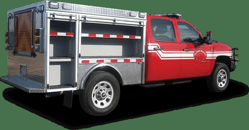 dry rescue light duty fire truck