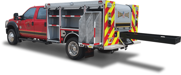 2016 Ford F550 9ft Dry Rescue Demo