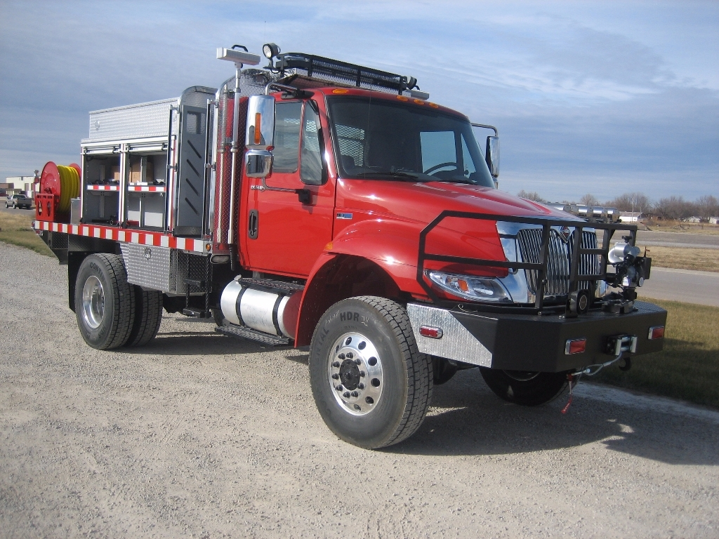 Brush Truck Work Station Heavy Unruh Fire