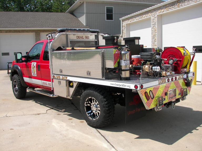 brush truck flatbed