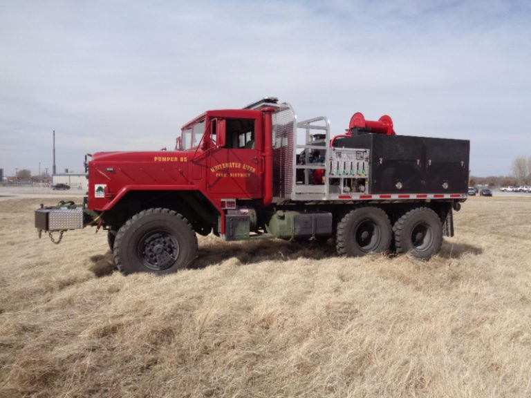 6x6 brush truck custom fire trucks