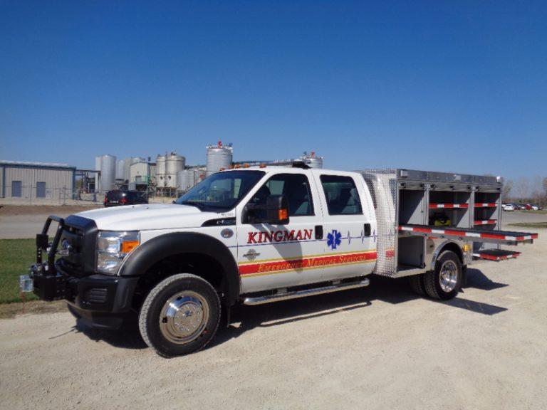 drey rescue fire truck medium duty extra storage