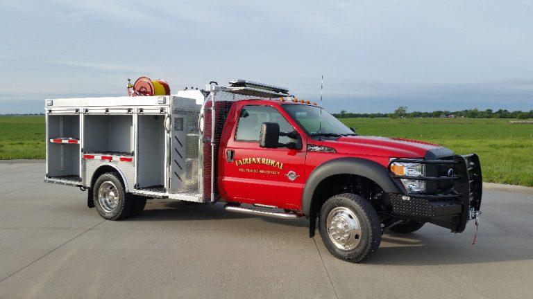 wet rescue fire truck crosswalk