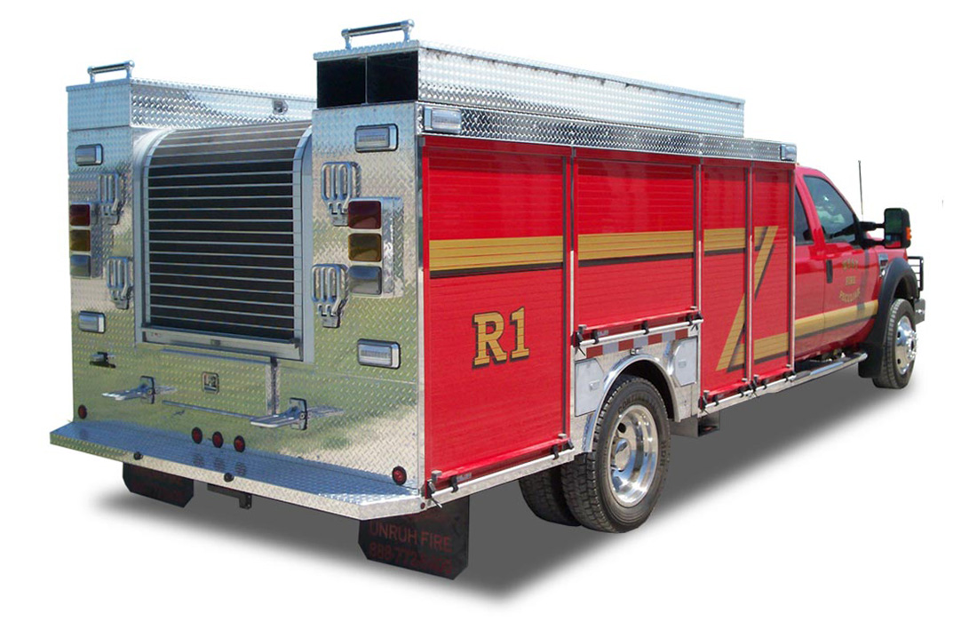 Wet Rescue Enclosed Fire Skid
