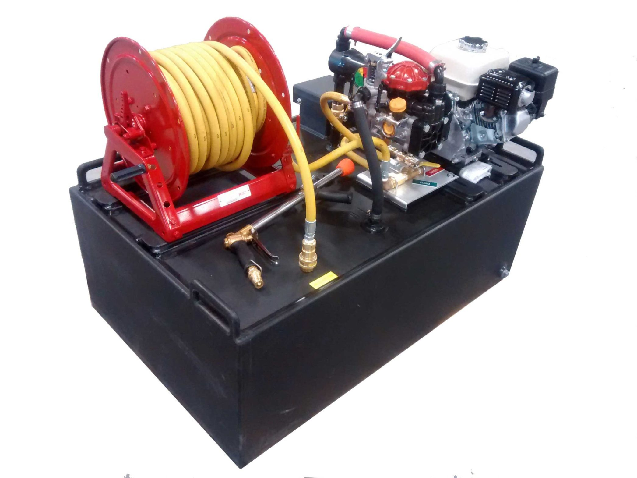 50 gallon atv high pressure skid unit