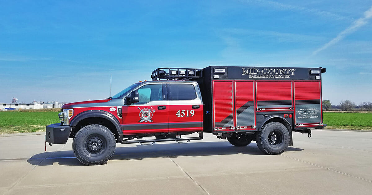 Mid County Fire Protection District - Driver Side