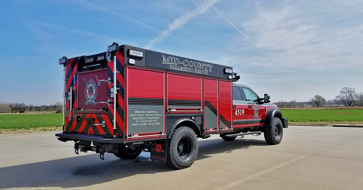 Mid County Fire Protection District - Rear View