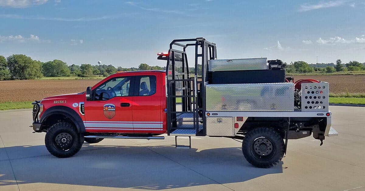 Pueblo Chemical Depot - Driver Side View