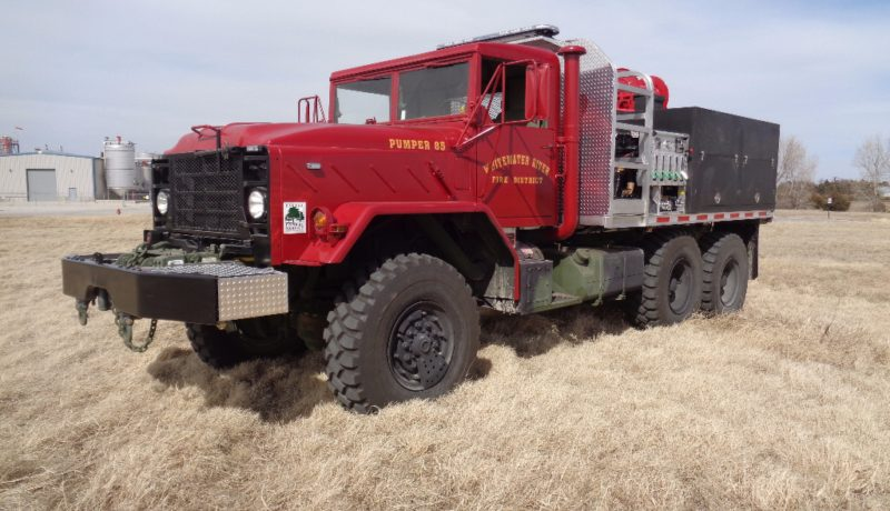 heavy brush truck custom fire trucks